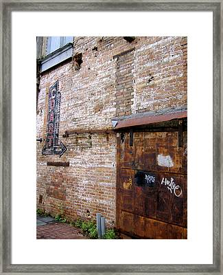 Framed Print featuring the photograph Rusty Coast by Paul Foutz