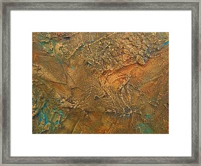 Rusty Day Framed Print