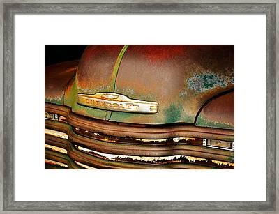Rusty Gold Framed Print by Marty Koch