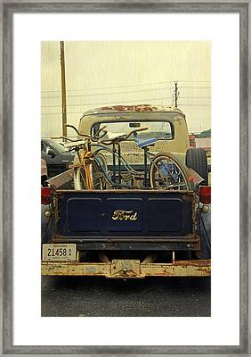 Rusty Haul Framed Print by Laurie Perry