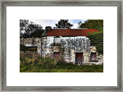 Rusty House Framed Print