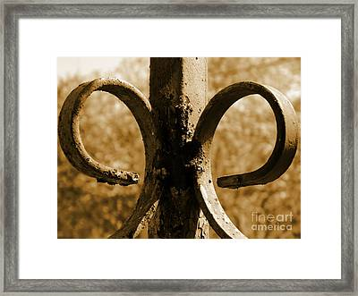 Rusty Memories Framed Print by Andrea Anderegg