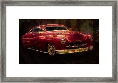 Rusty Merc Framed Print by Steve McKinzie