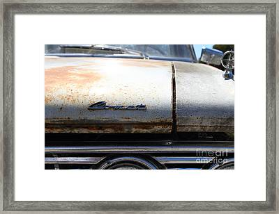 Rusty Mercury Comet . 7d15908 Framed Print by Wingsdomain Art and Photography