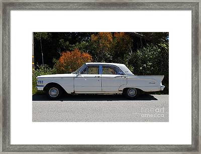 Rusty Mercury Comet . 7d15909 Framed Print by Wingsdomain Art and Photography
