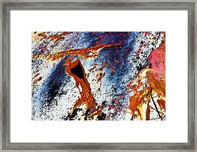 Rusty Metal Framed Print by Craig Brown