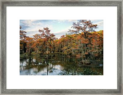 Rusty Mill Framed Print
