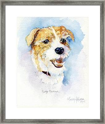 Rusty Mortimer Framed Print by Kimberly McSparran