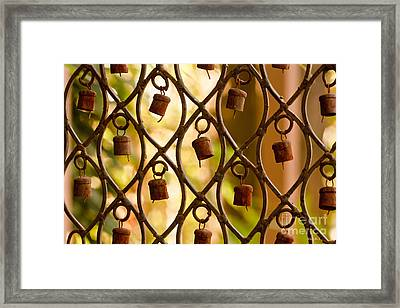 Rusty Music  Framed Print