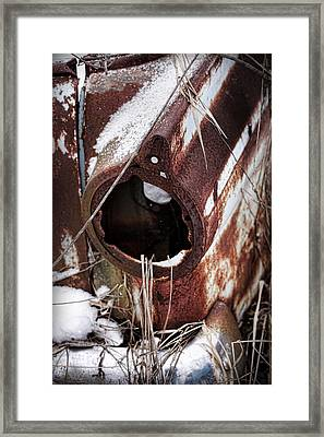 Rusty Relic 1 Framed Print by Gordon Dean II
