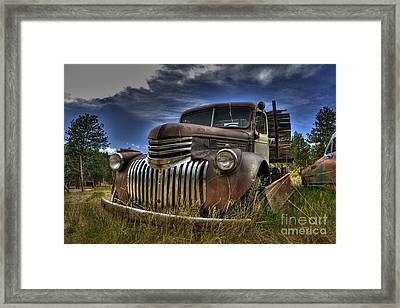 Rusty Relic Framed Print