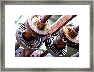 Rusty Relics Framed Print