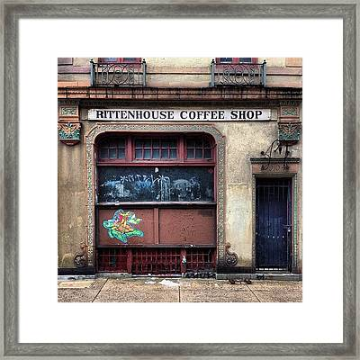 Rusty Rittenhouse Framed Print