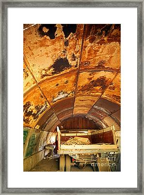 Rusty Roundtop Framed Print