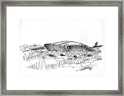 Rusty Shipwreck 1998 Framed Print by Richard Wambach