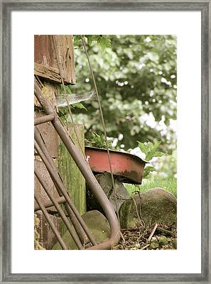 Rusty Things Framed Print by Andrea Dale