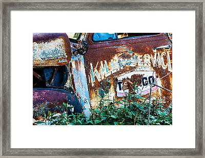 Rusty Truck #1 Framed Print