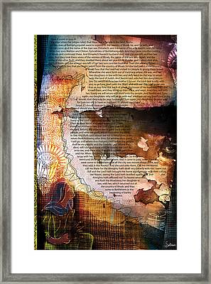 Ruth 1 Framed Print by Switchvues Design
