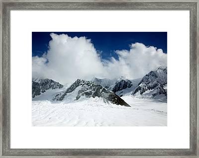 Ruth Gorge Denali National Park Alaska Framed Print by Carol Highsmith