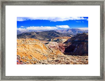 Ruth Northern Nevada Framed Print by Gunter Nezhoda
