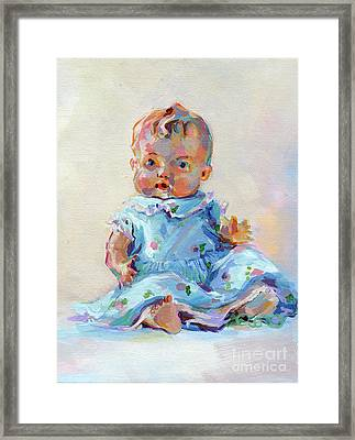 Ruthie Framed Print by Kimberly Santini