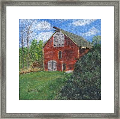 Ruth's Barn Framed Print