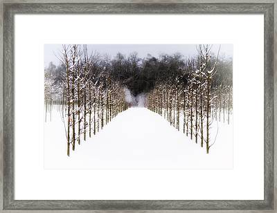 Framed Print featuring the photograph Ruths Winter Scene by Russell Styles