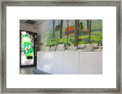 Rutledge Lake Rv Park Laundry Facilities Asheville Nc Framed Print