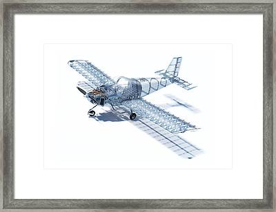 Rv-12 Cutaway Framed Print by Hangar B Productions