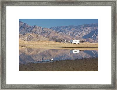 Rv During Drought Framed Print by Ashley Cooper