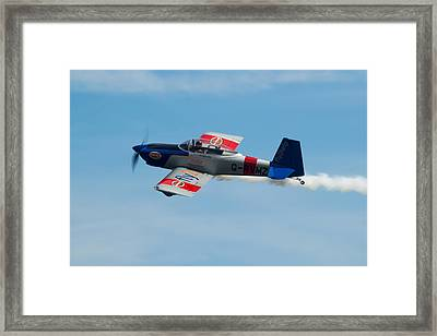 Framed Print featuring the photograph Rv8tors Flyby Wave by Scott Lyons