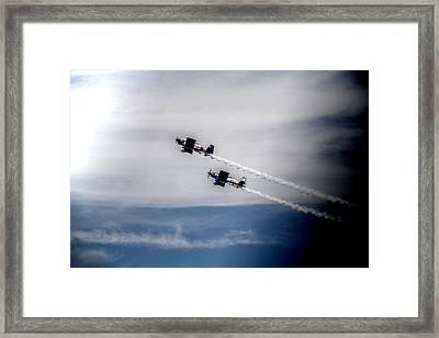 Framed Print featuring the photograph Rv8tors Flying High Sunderland Air Show 2014 by Scott Lyons