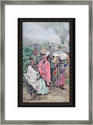 Rwanda Framed Print by Mike Walrath