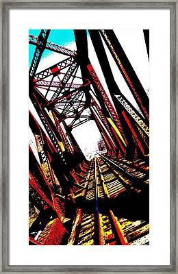 Rxr Bridge Polarized Framed Print