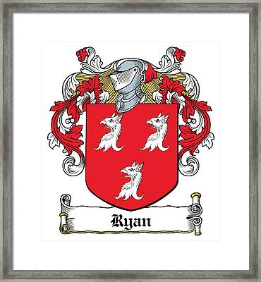 Ryan Coat Of Arms Tipperary Ireland Digital Art By Heraldry