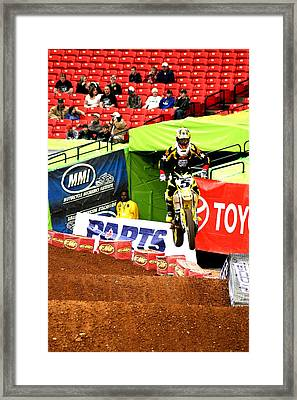 Ryan Dungey Framed Print by Jason Blalock