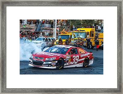 Ryan Newman Framed Print by James Marvin Phelps