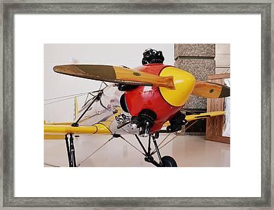 Ryan Pt-22 Recruit Framed Print by Michelle Calkins