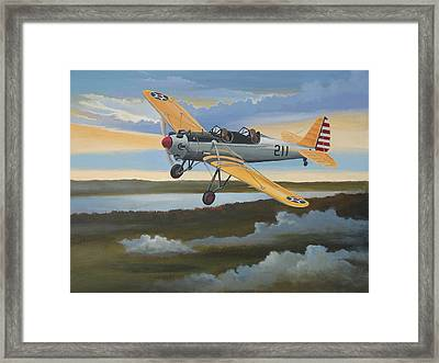 Ryan Pt-22 Recruit Framed Print by Stuart Swartz