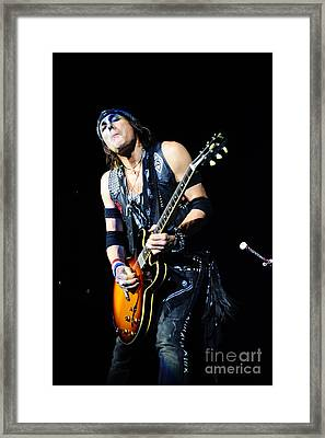 Ryan Roxie Framed Print by Jenny Potter