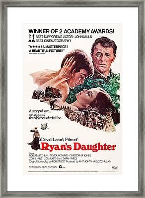 Ryans Daughter, Us Poster, Rear Robert Framed Print by Everett
