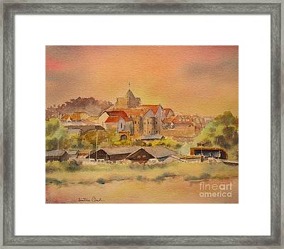 Rye East Sussex Uk Framed Print
