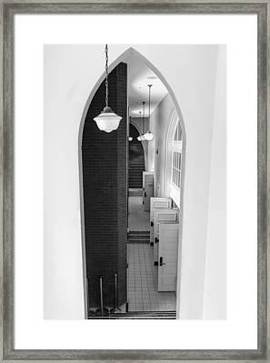 Ryman Auditorium Entrance Framed Print