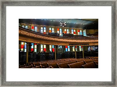 Ryman Colors Framed Print