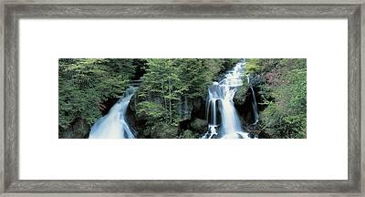 Ryuzu Waterfall Nikko Tochigi Japan Framed Print