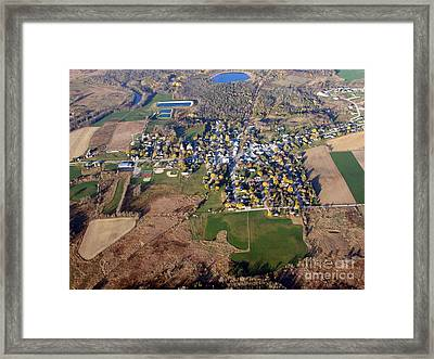 S-082 St. Cloud Wisconsin Framed Print by Bill Lang