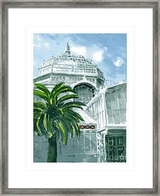 Sf Conservatory Framed Print