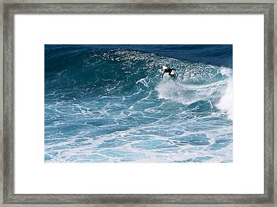 S-curve Framed Print by Kathy Corday