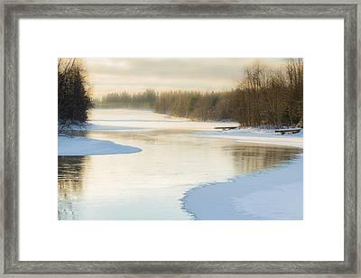S Framed Print