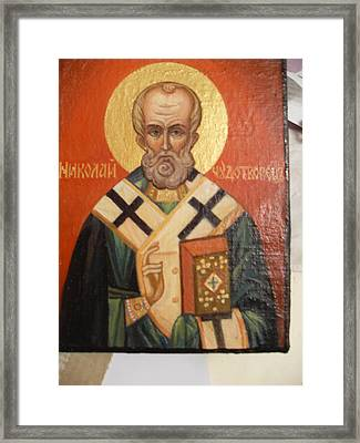 S. Nikolay Framed Print